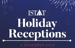 Register for ISTAT Holiday Receptions